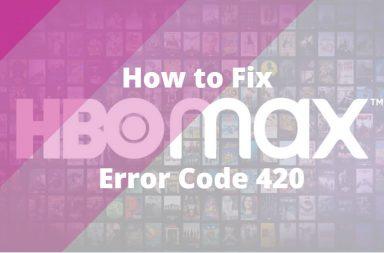 restart HBO Max to resolve error code 420