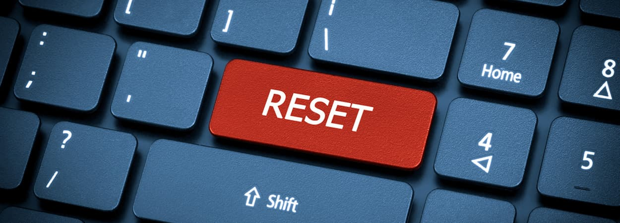 Reset Freeview when not recording