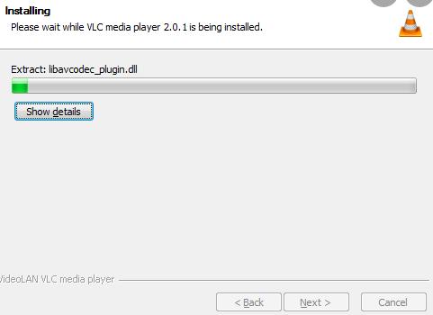 vlc error unable to open mrl