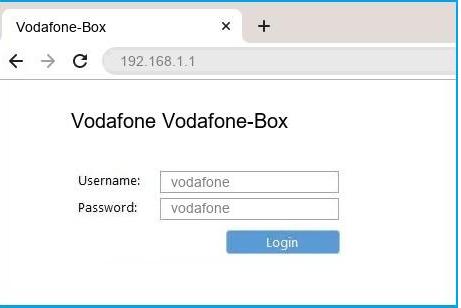 vodafone internet not working