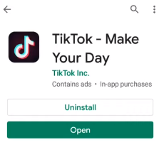 why is tiktok not showing my videos