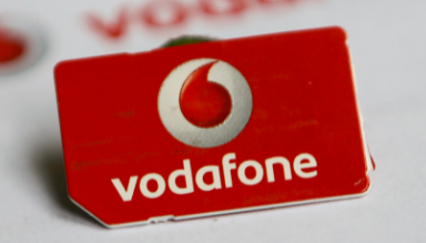 vodafone sim not registered on network
