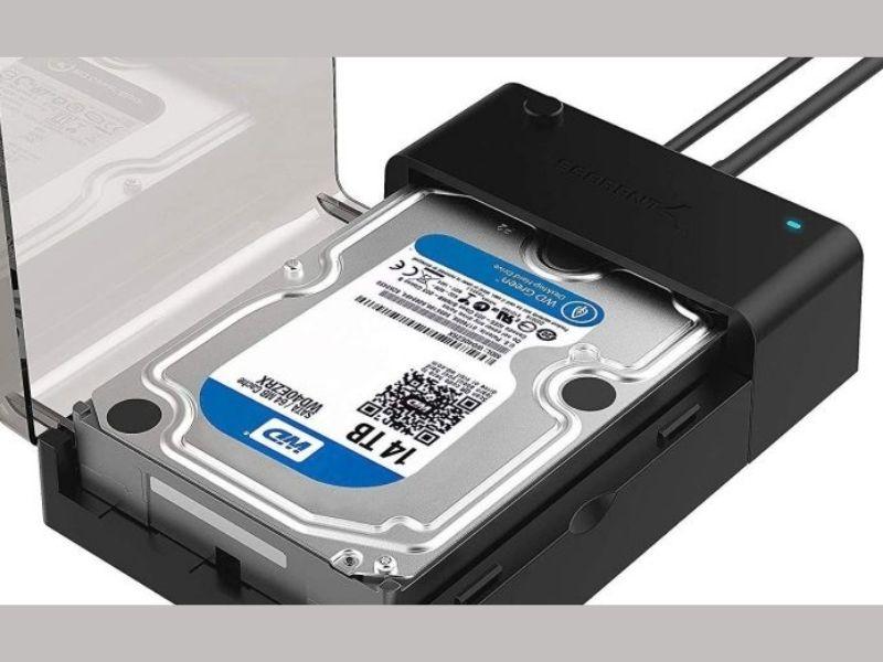 USB external hard drive
