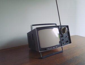Sony blank TV screen